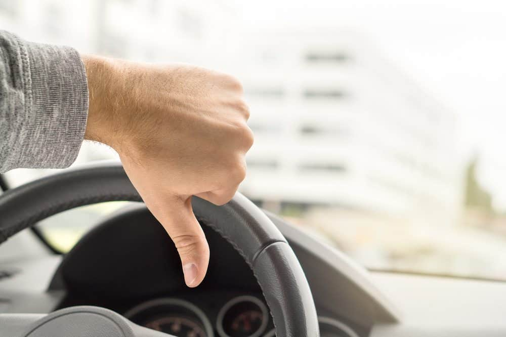 quando o motorista perde o direito de dirigir