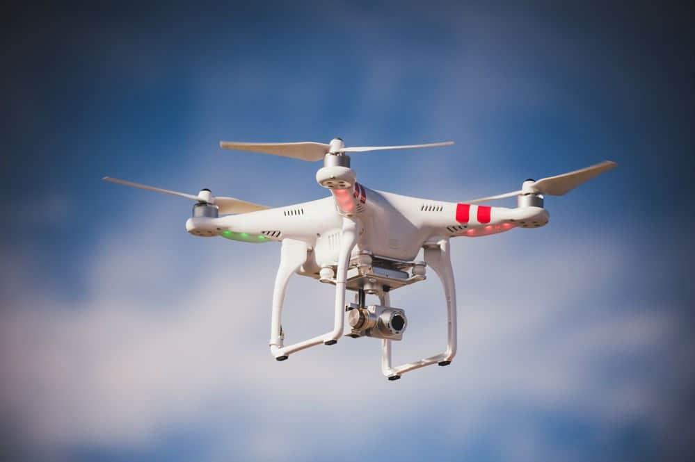 fiscalizar motoristas com drones