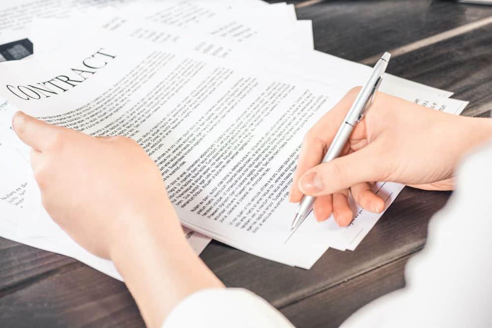 seguro de veiculo detalhes do contrato