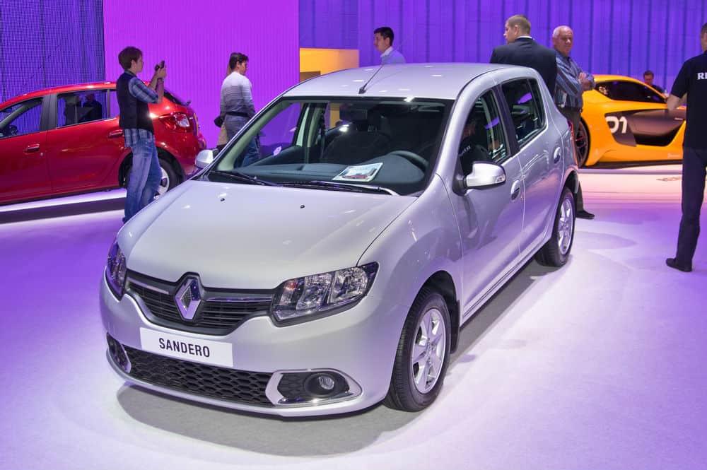 Confira algumas características do Renault Sandero 1.0