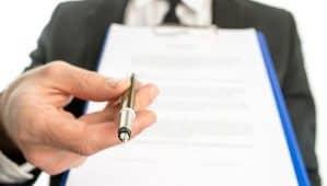 contrato de compra e venda de veículo capa