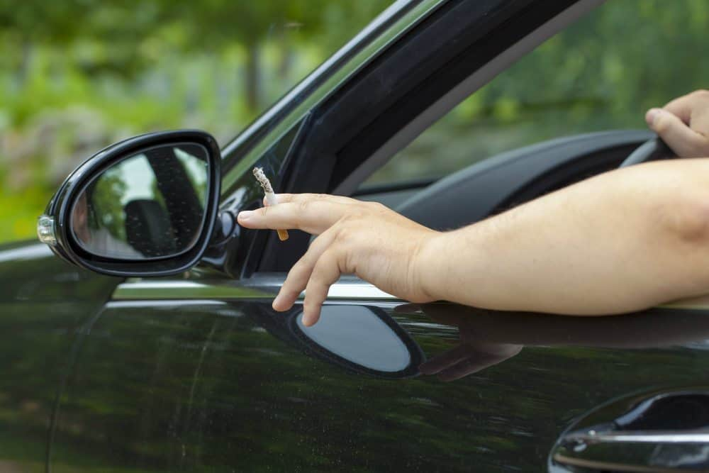 dirigir fumando recurso