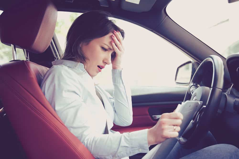 A suspensão pode trazer muitos prejuízos ao condutor