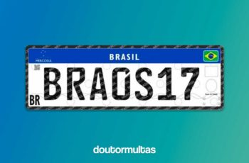 Veículos Brasileiros terão Placas Padrão MERCOSUL a Partir de Setembro de 2018