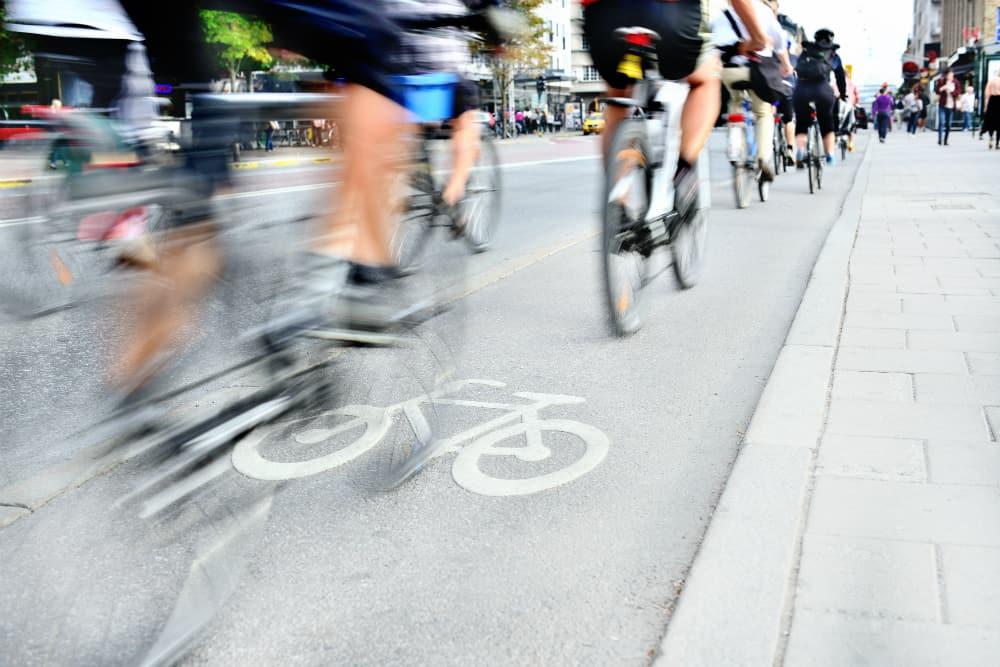A construção de ciclovias é um importante aliado na busca por um trânsito seguro