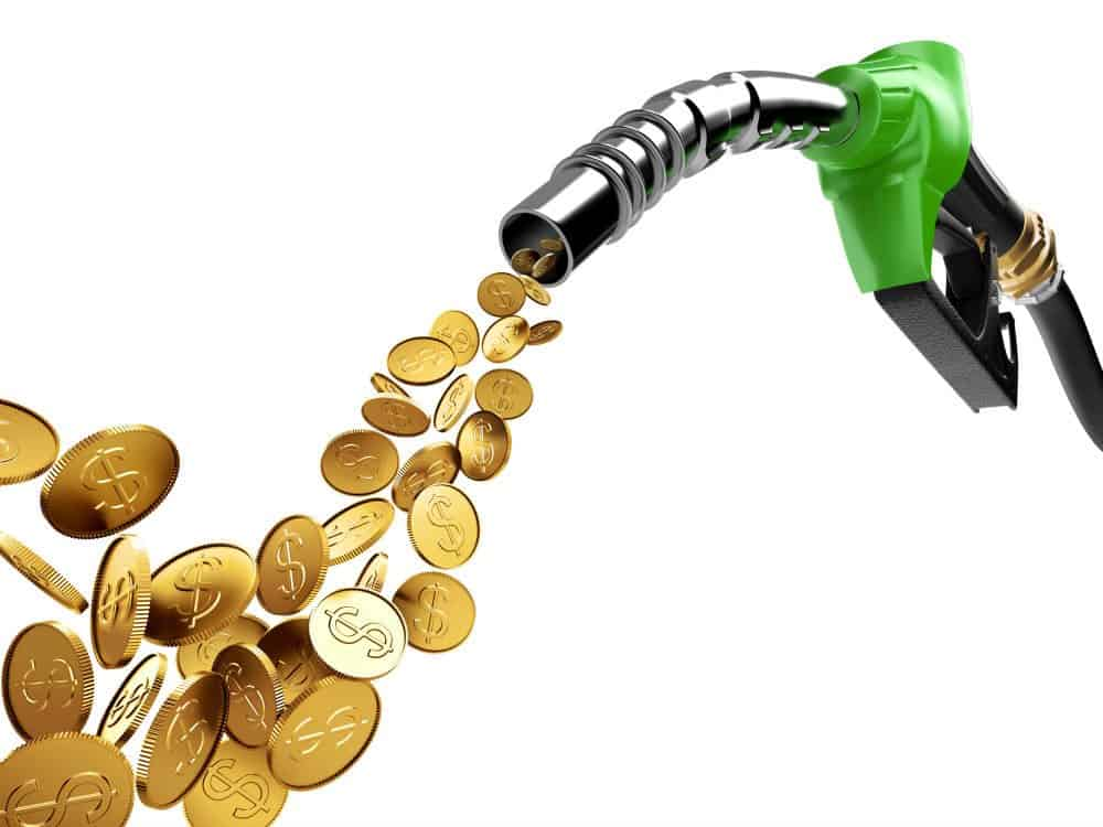 preco da gasolina oscila