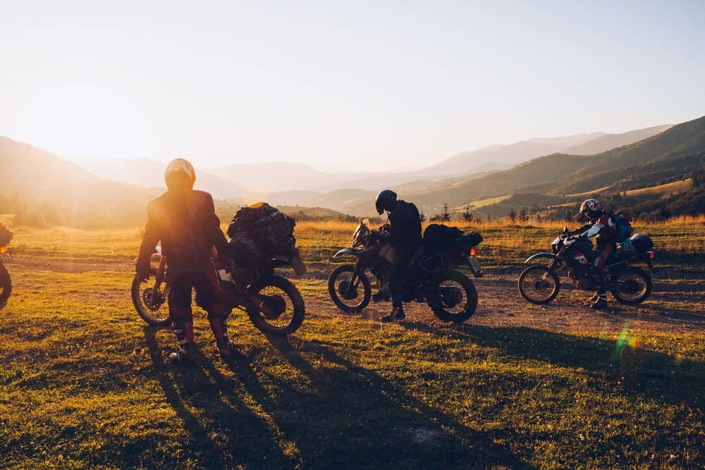 viajar moto viajar em grupo
