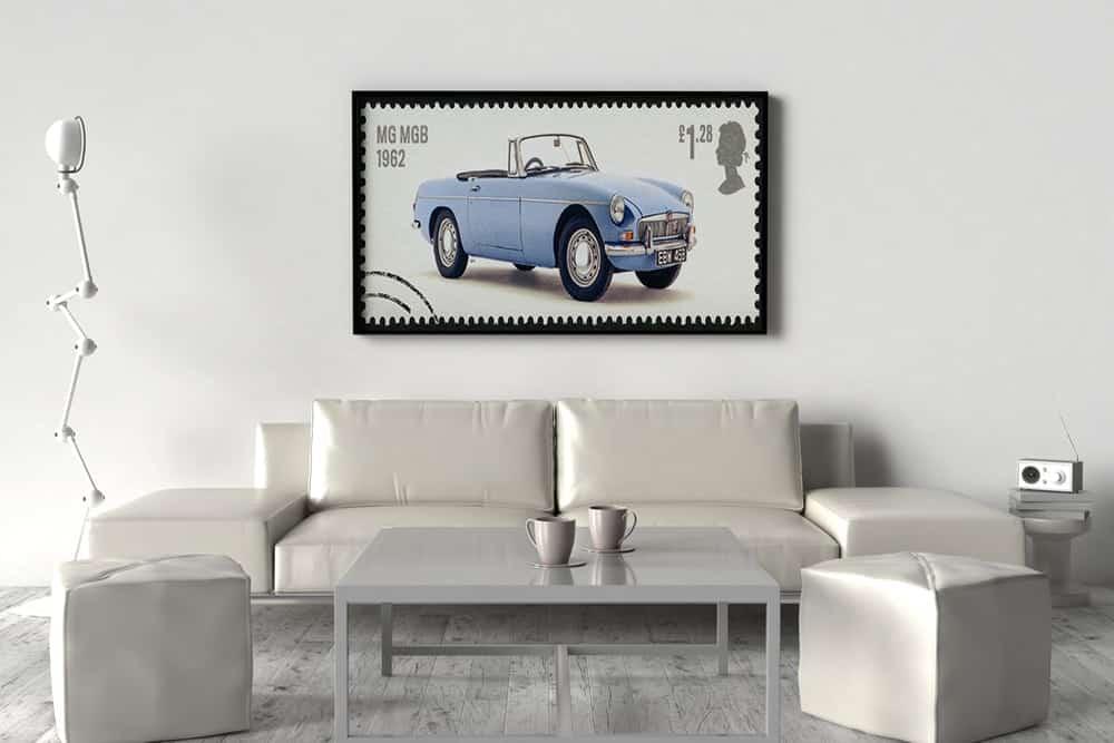 12 ideias de presentes para apaixonados por carros quadros posteres