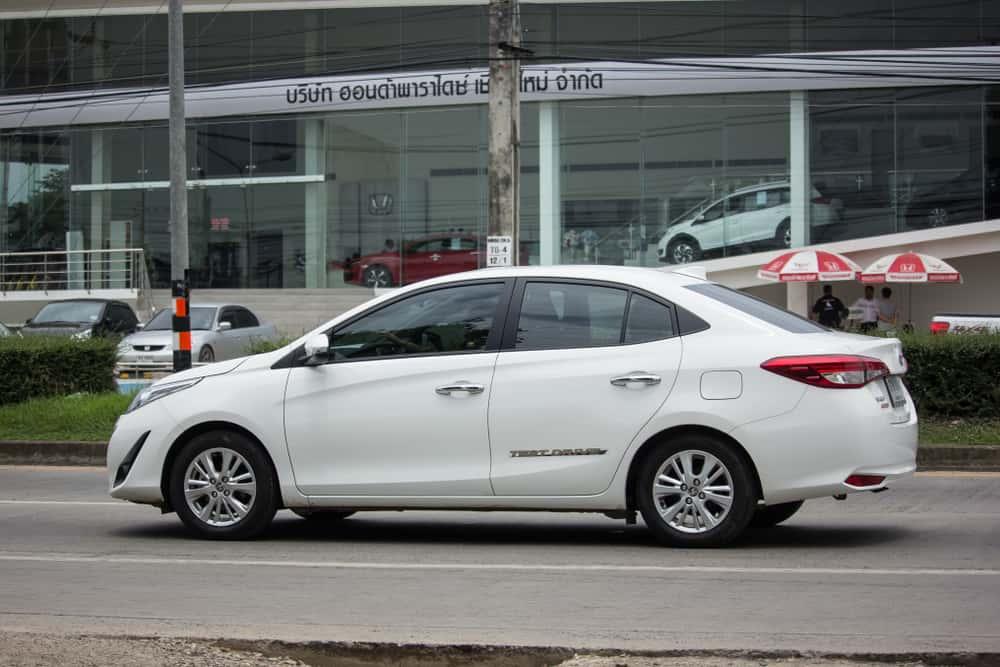 Toyota Yaris Sedã XL
