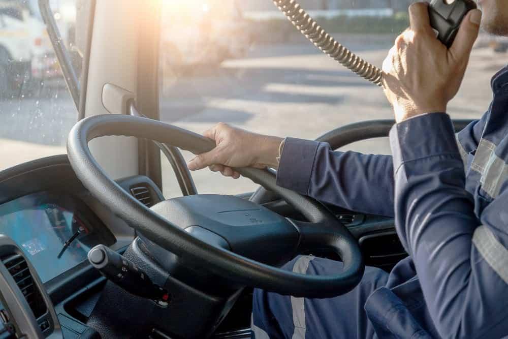 pontos na carteira de motorista profissional