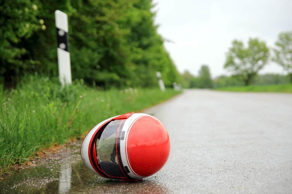 Se seu capacete já sofreu algum impacto, é importante pensar em trocá-lo