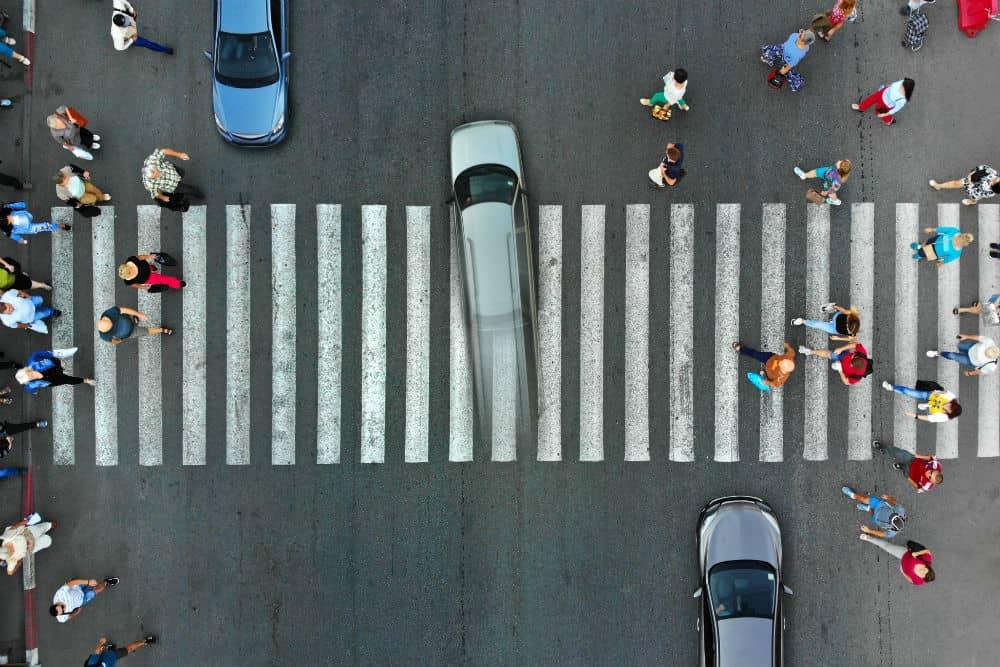 A falta de paciência dos condutores é um dos fatores que incomodam os pedestres